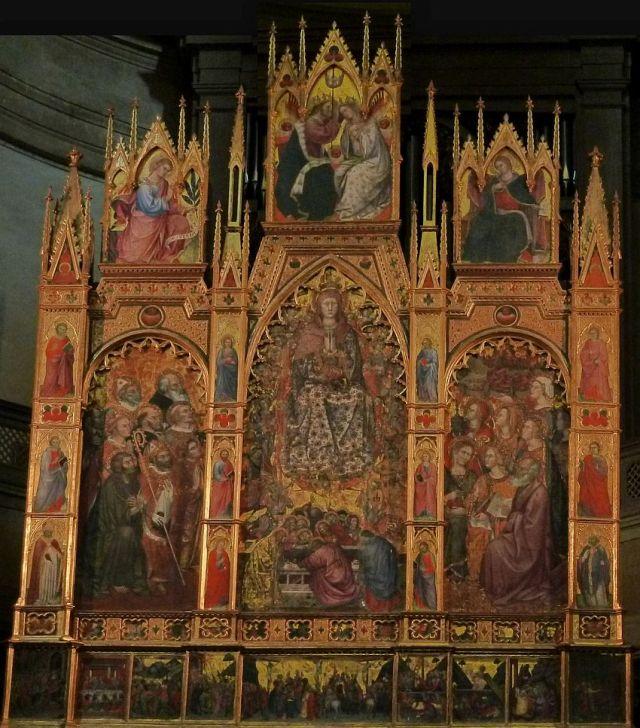 Katedrális, főoltár-Assunzione - Taddeo di Bartolo