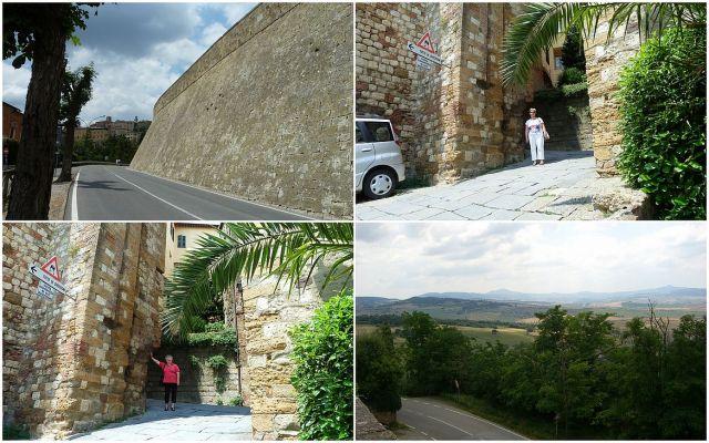 Montepulciano falainál