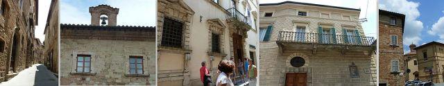 Montepulciano házak, stílusok 1