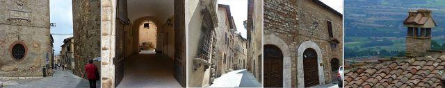 Montepulciano házak, stílusok 2