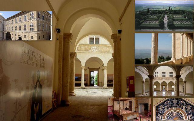 Piccolomini palota kollázs