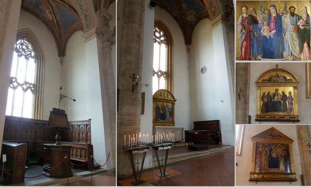 Pienza Santa Maria Assunta katedrális, kollázs 2