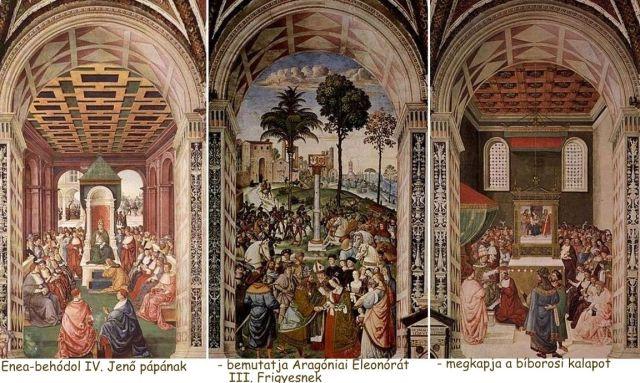 Pintoricchio - II. Pius ciklus 2