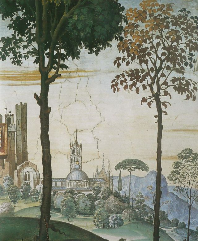 Pintoricchio_-_Frédéric_III_de_Habsbourg - részlet, Siena