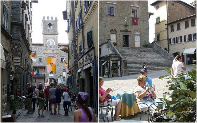 kávézás a Piazzán