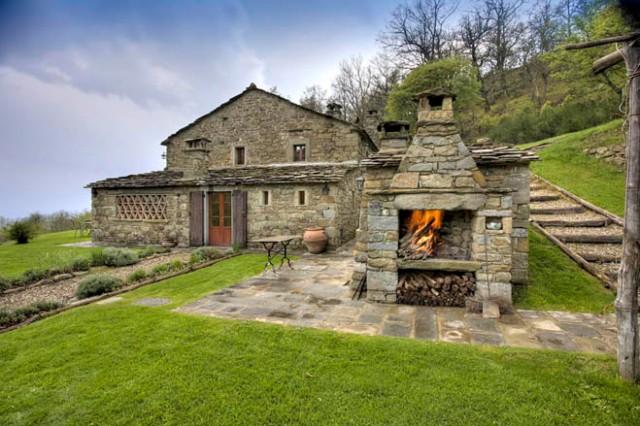 Frances Mayes  mountain house, Fonte delle Foglie Cortona Italy