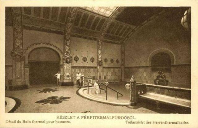 Gellért terrmál belső 1930-1939 , egykor.hu
