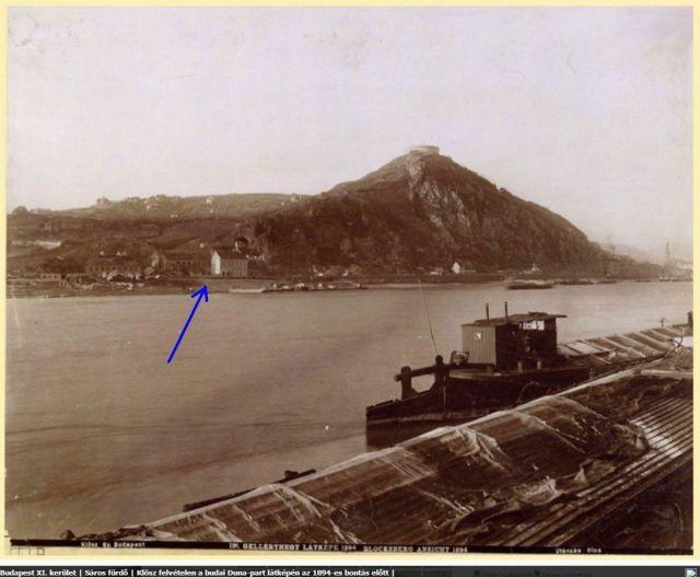 1894 előtt Sárosfürdő bontása , egykor.hu 01