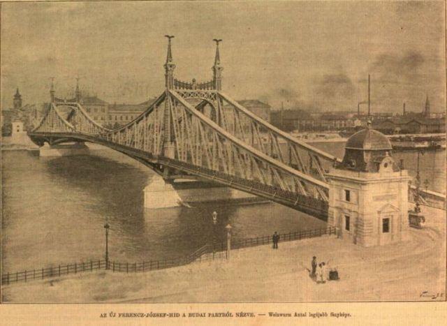 Új_Ferencz-József_híd_1- Weinwurm fotó , VU 1896. 40.sz