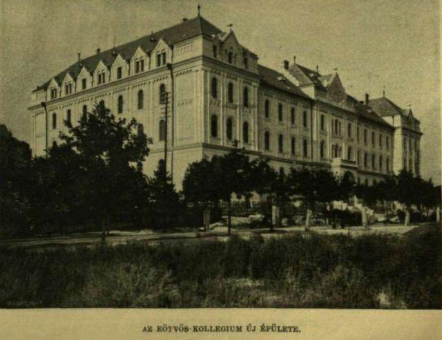 1910.aug.7. új városrész épül - Eötvös kollégium