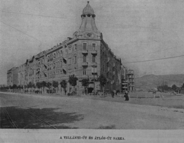 1910.aug.7. új városrész épül -Villányi u sarok