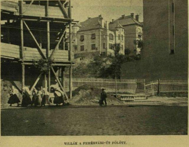 1910.aug.7. új városrész - villák a B.B. u fölött