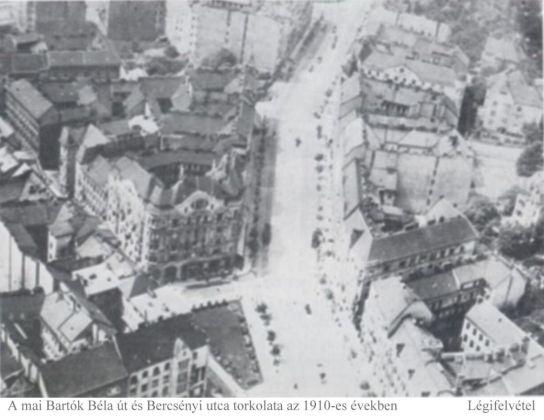 1910 Fehérvári út , Légifelvétel Forrás Bp. története IV.
