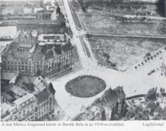 1910 körtér légifelvétel Forrás Bp. története IV.