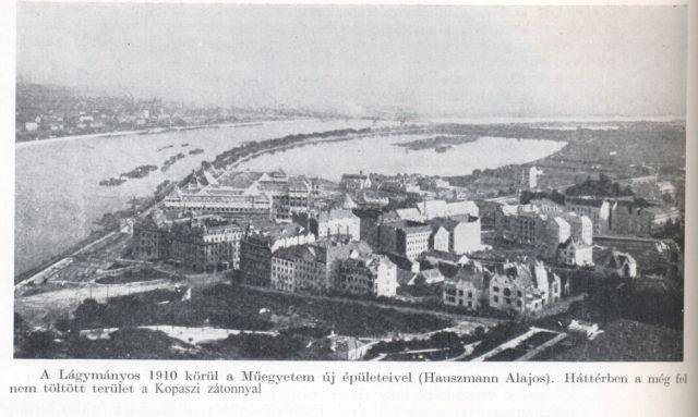 1910 Lágymányosi tó, Műegyetem Forrás Bp. története IV