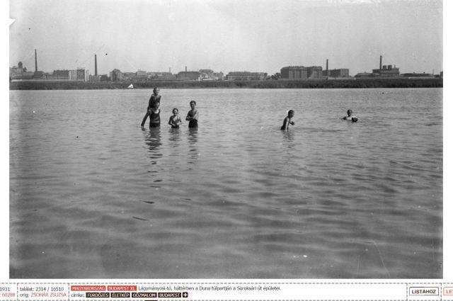 1931 Lágymányosi tó, Fortepan
