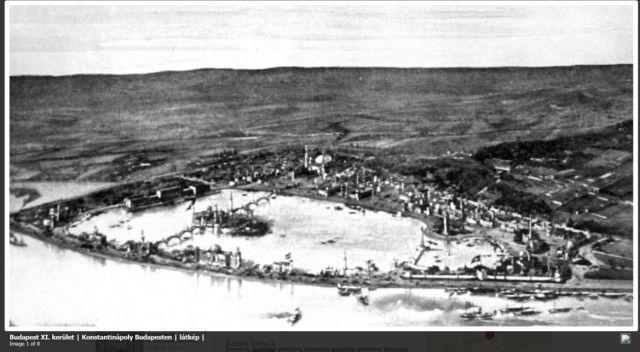 Konstantinápoly Bp-en - látkép