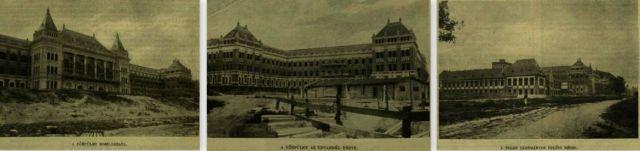 Műegyetem építése, 1908
