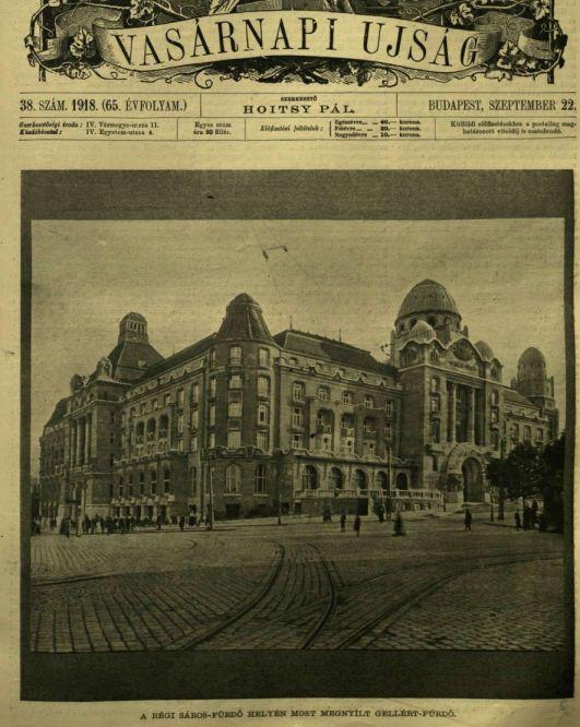 VU 1918 Gellértfürdő megnyitás