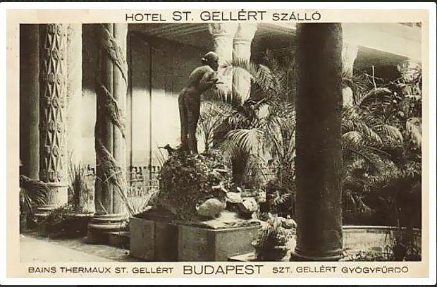 1931 Gellért fürdő, egykor.hu Kacsás lány