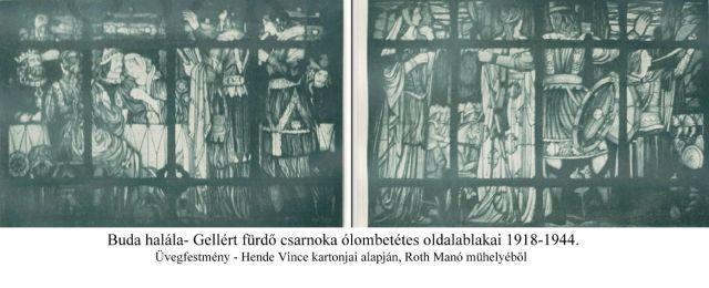 Gellért fürdő- Buda halála