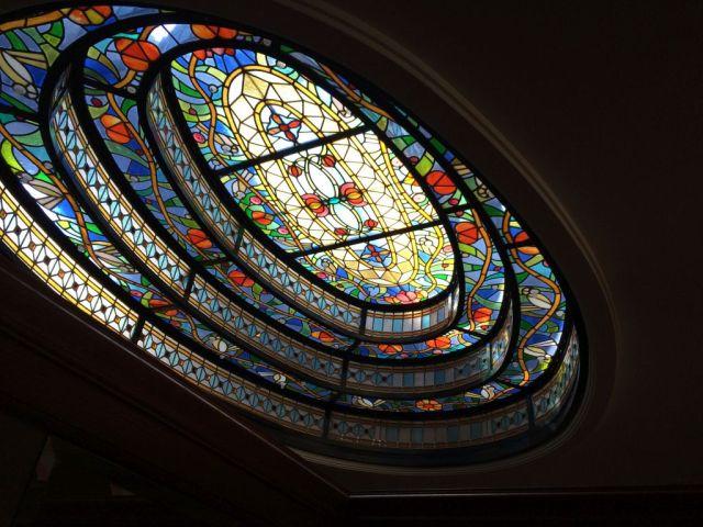 Gellért felülvilágító ablak, Gonzales Gábor 1998 IMG_1406