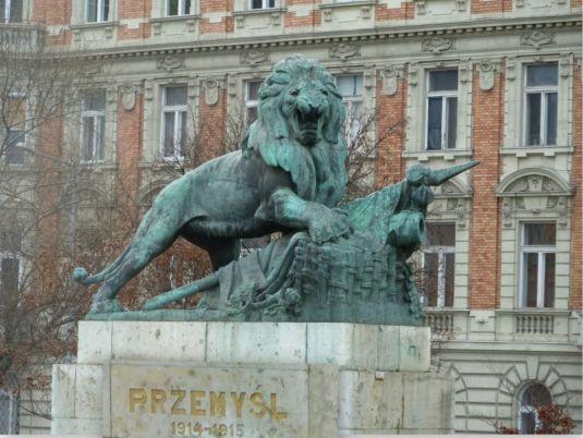 Przemysl-i hősi emlékmű, (Sződi Szilárd) - Margit híd, Budai hídfő