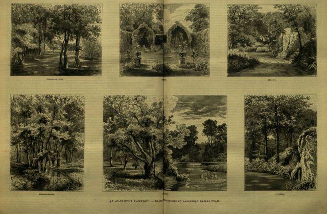 Csendélet_Alcsúton 1881.máj.1._4 Klotild főhercegnő rajzai