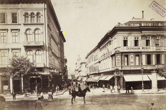 Astoria sarok, 1894 k.