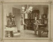 Erdélyi_Mór-_Jókai dolgozószobájában_-_1890-es évek