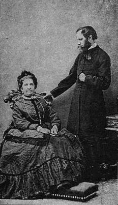 Jókai_Mór,_Laborfalvi_Rózával_1873, Wikipedia