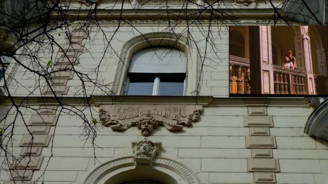 József krt 9 - utcai és udvari front