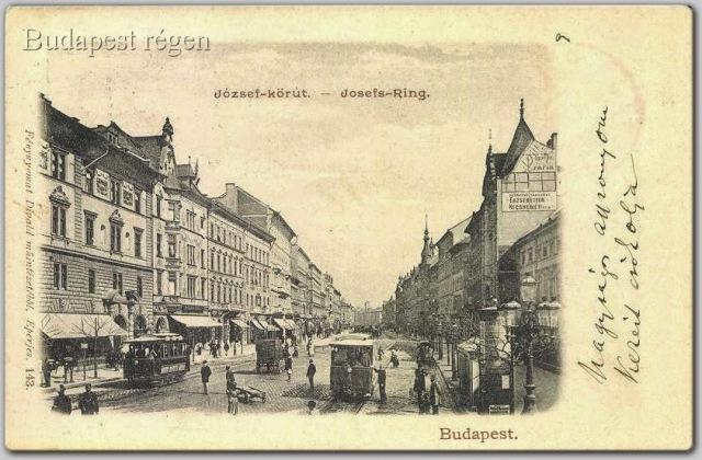 jozsef korut 1901