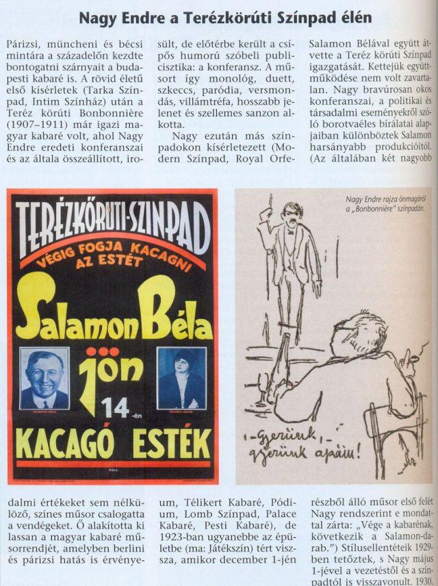 Terézkörúti színpad, Nagy Endre-orfeumok stb.1917- 1923 0003