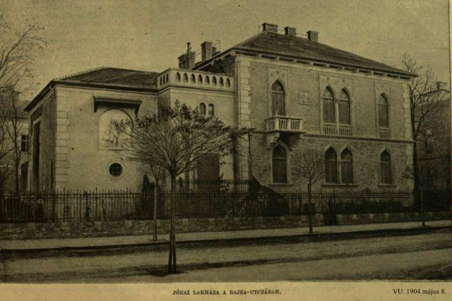 VU - Bajza utcai villa, 1904