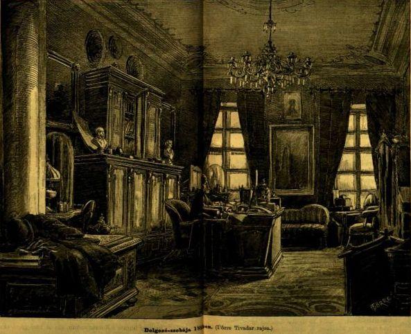 VU_1885_Jókai dolgozó szoba