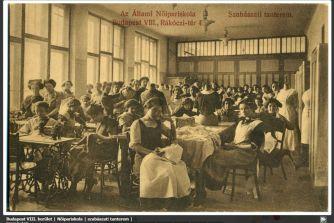 Nőipariskola, egykor.hu
