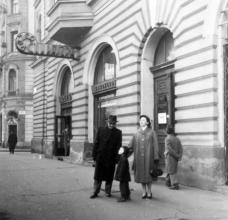Rákóczi tér , Békési u 1959 Fortepan 31635