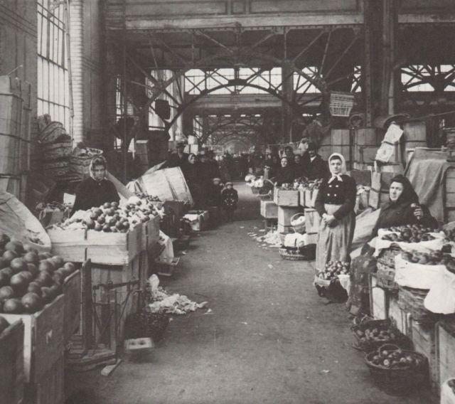 Rákóczi téri vásárcsarnok 1900 körül-Klösz fotó 2