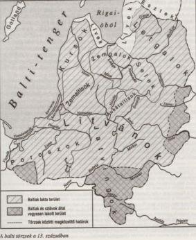 balti törzsek a 13. században