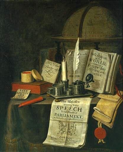 Edward Coller 1699 csendélet