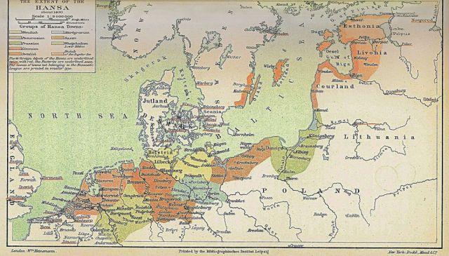 Extent_of_the_Hansa-optimiert, ca. 1400
