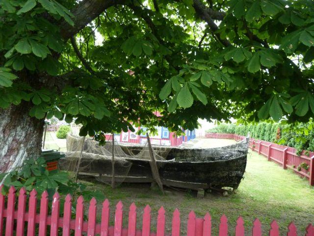 Kur - földnyelv, Nida P1640630 csónakok