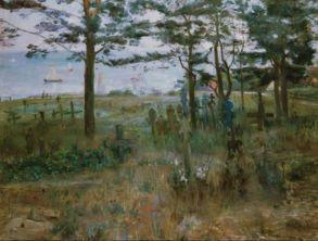 Lovis Corinth_Fischerfriedhof in Nidden an der Kuhrischen Nehrung, 1893