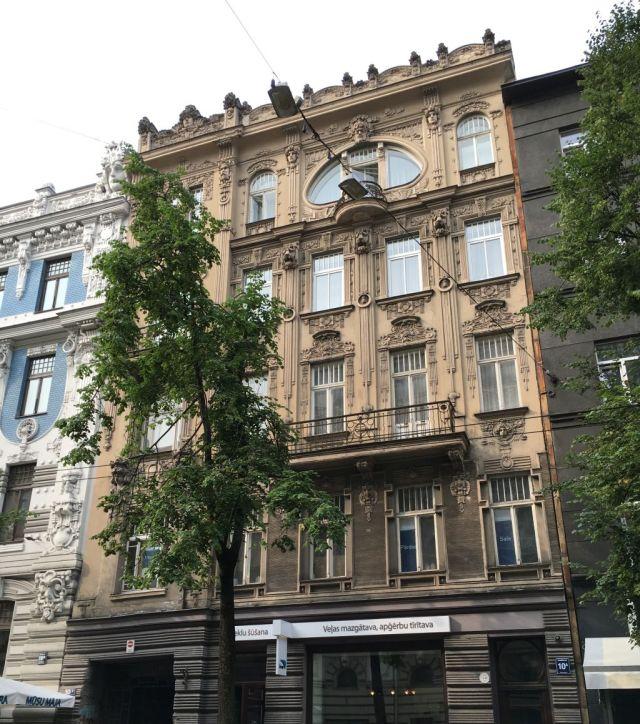 Riga, sz. IMG_2567 Elizabetes iela 10a, M. Eisenstein 1901