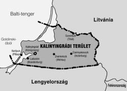 TERKEP, Kalinyingrádi terület