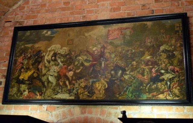 Trakai 6 Jan Matejko- Grünwaldi csata, másolat