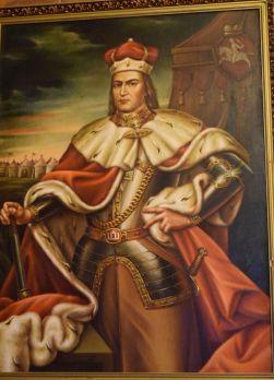 Trakai 6 - Nagy Vytautas 1392-1430-festő Jonas Sidaravicius
