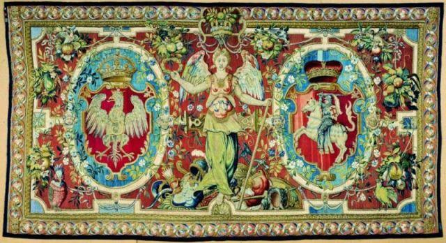 zsigmond-agost-faliszonyeg-lo-as-litvania-cimereivel1550-1560