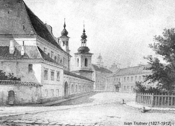 church_of_st-_michail_vilnius_lithuania-ivan-trutnev-1827-1912